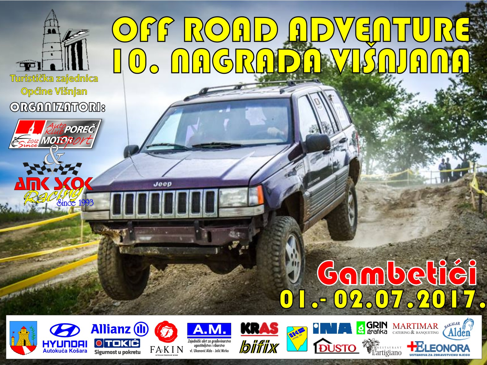 Off road adventure - 10. Nagrada Višnjana 2017